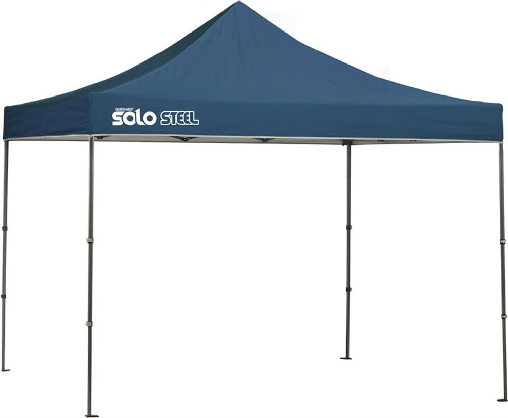 Quick Shade Solo Steel 100 10 x 10 ft. Straight Leg Canopy - Midnight Blue