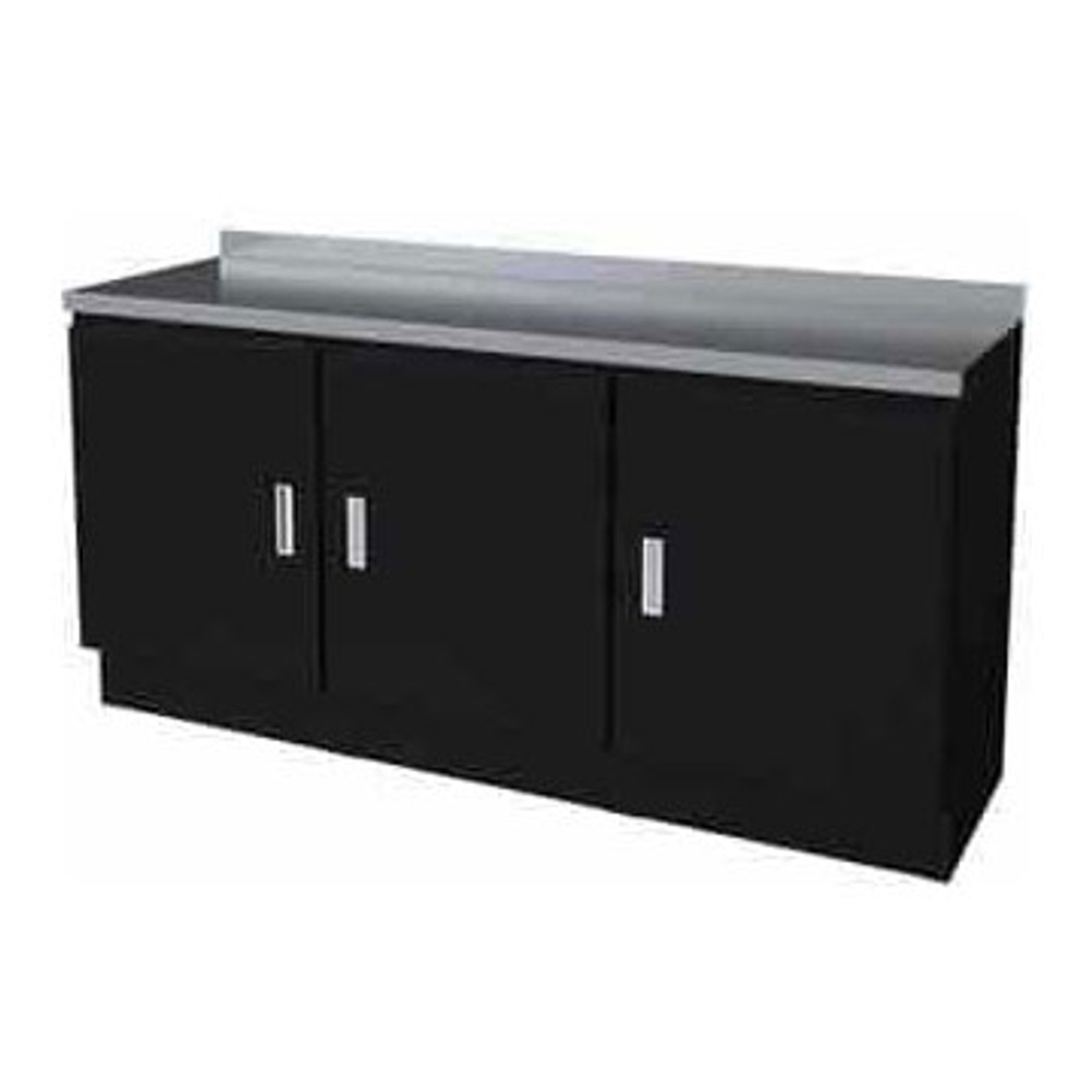 Moduline Select Series 4-Piece Garage Cabinet Set - Black