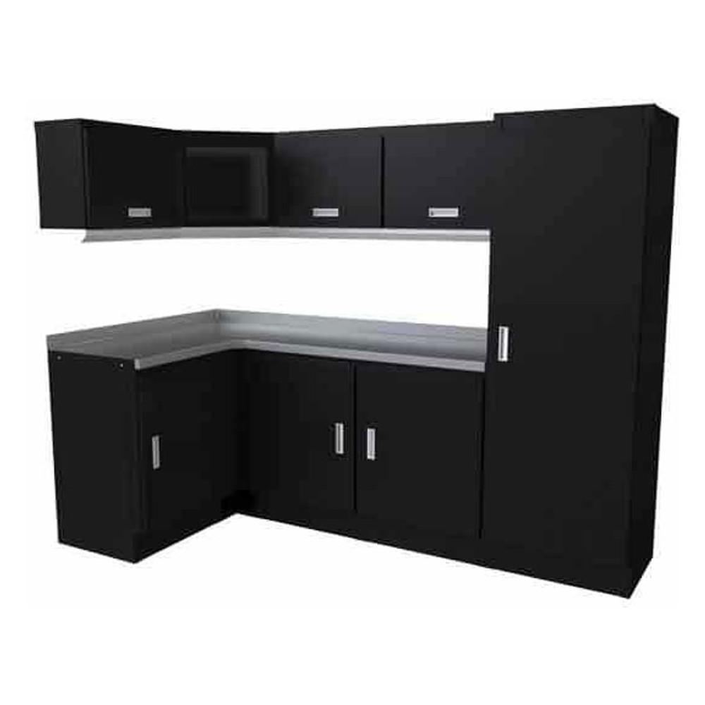 Moduline Select Series 11-Piece Garage Cabinet Set - Black