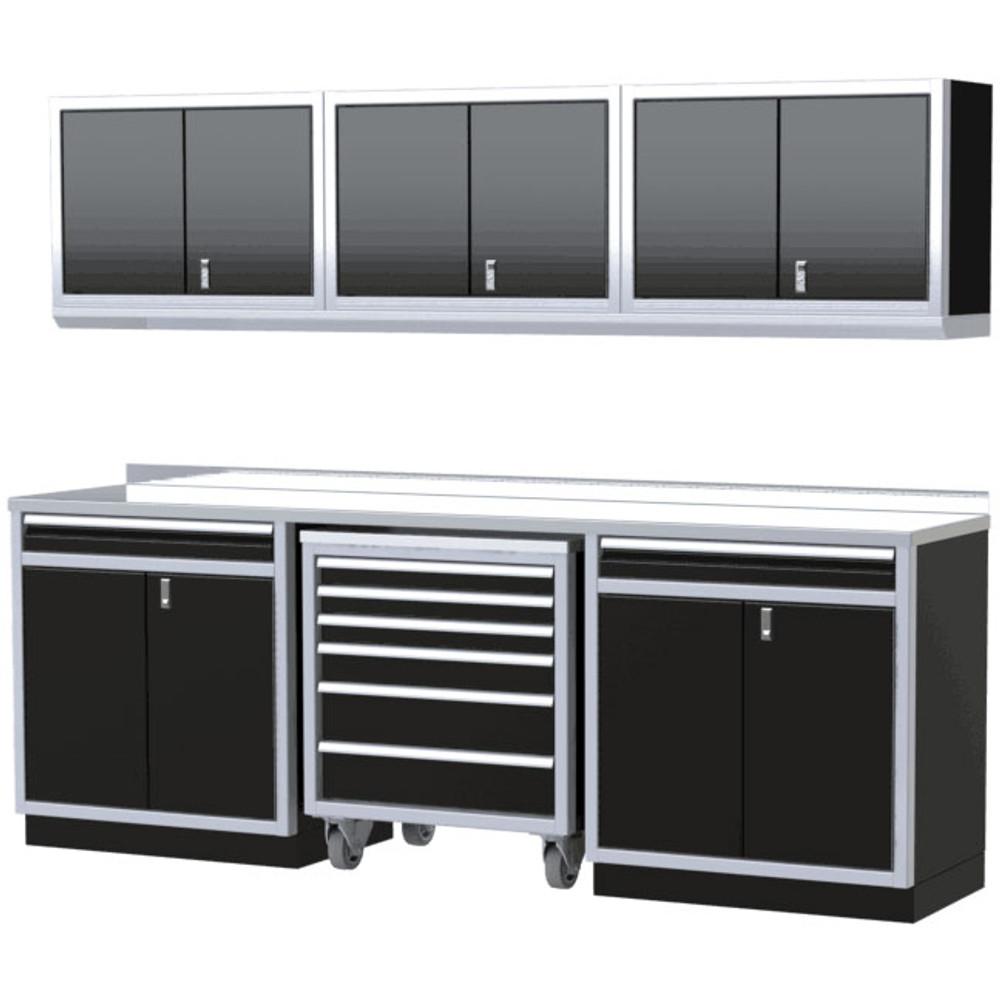 Moduline PRO II Series 8-Piece Garage Cabinet Set PGC009-06X