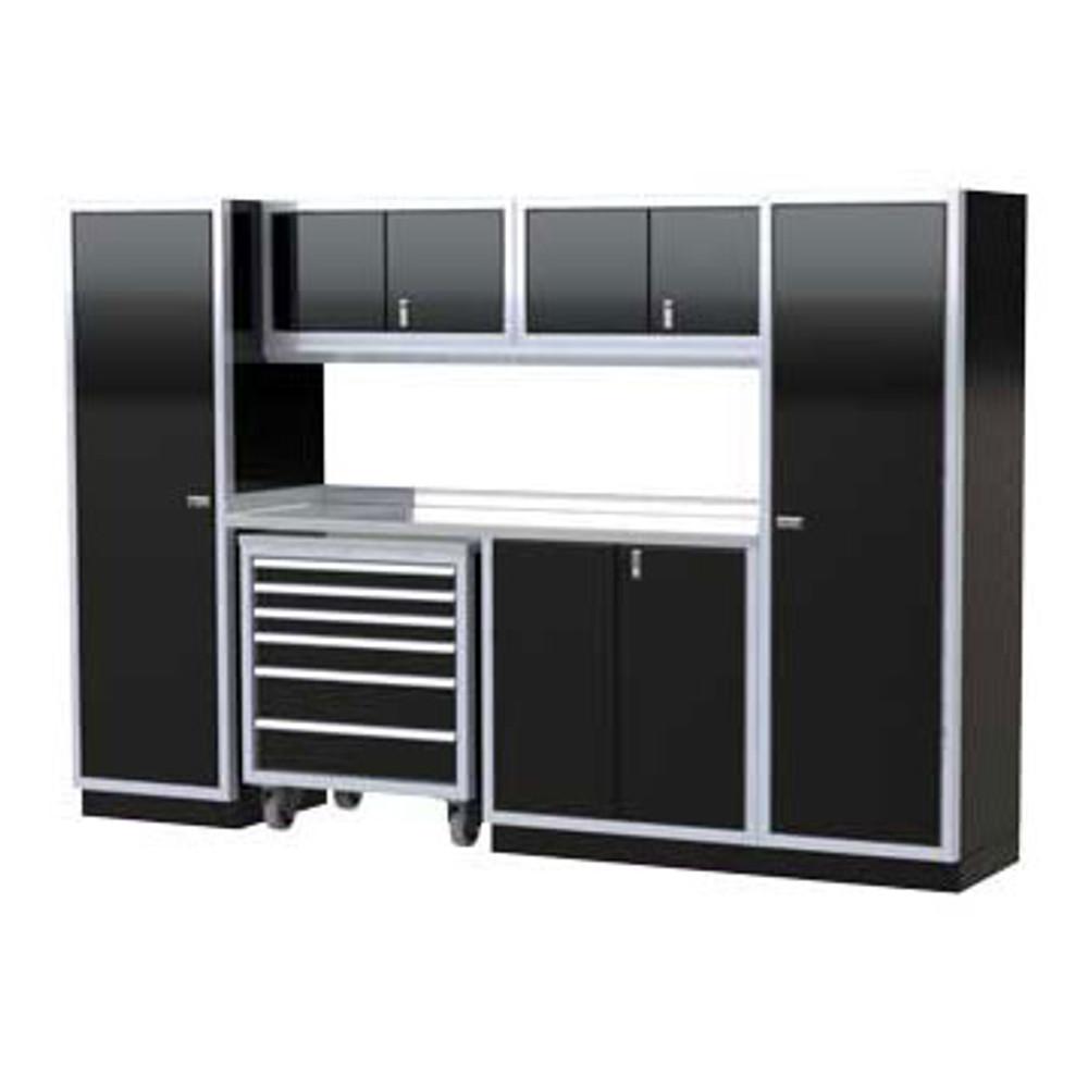 Moduline PRO II Series 8-Piece Garage Cabinet Set PGC010-03X
