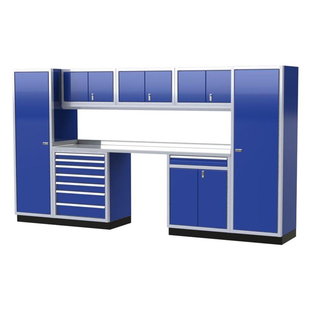Moduline PRO II Series 9-Piece Garage Cabinet Set PGC012-01X