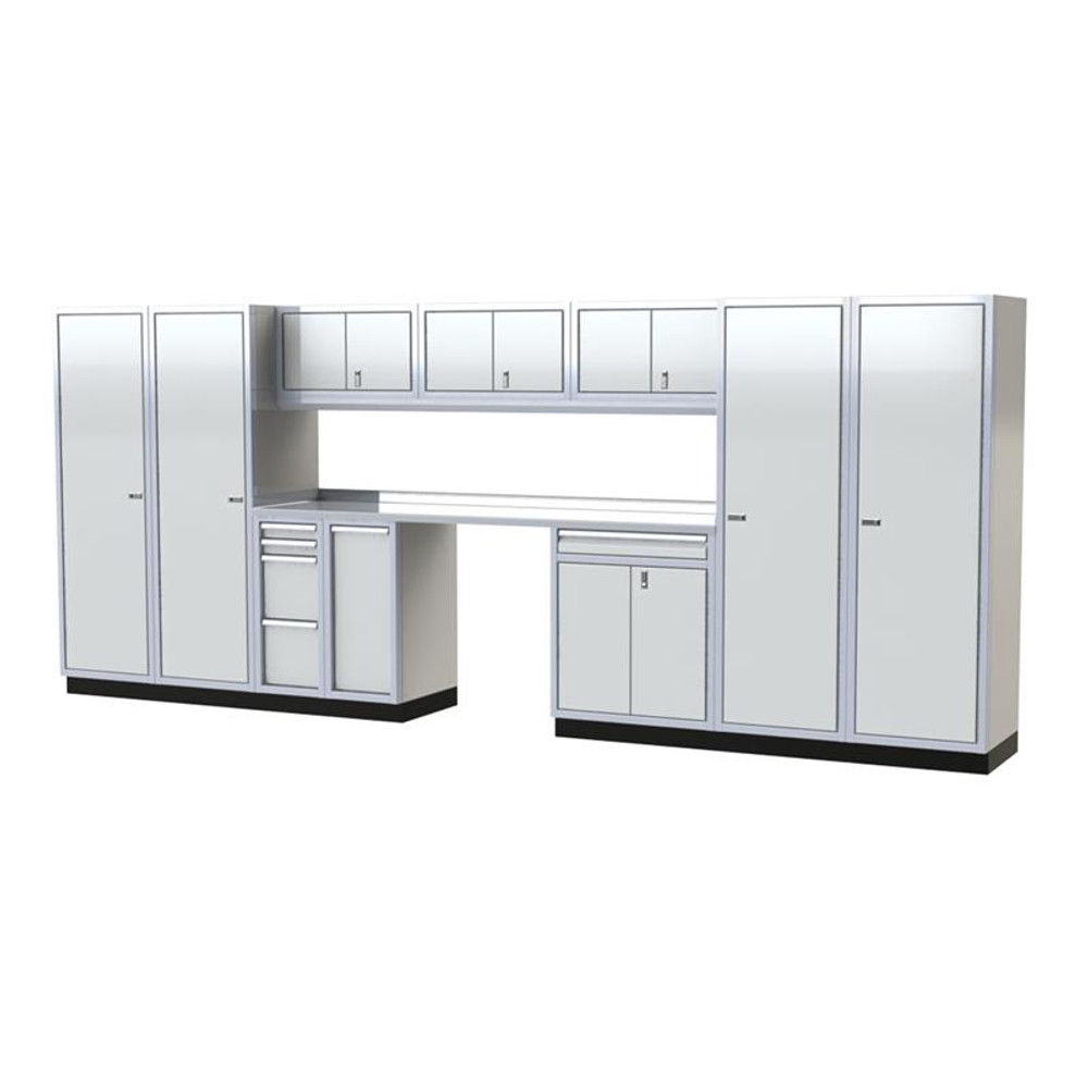 Moduline PRO II Series 12-Piece Garage Cabinet Set PGC016-02