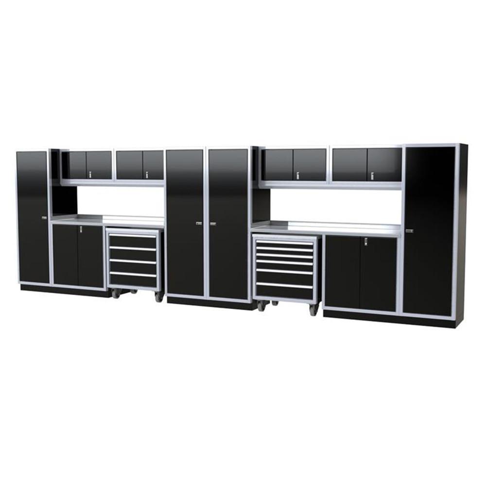 Moduline PRO II Series 16-Piece Garage Cabinet Set PGC020-04X