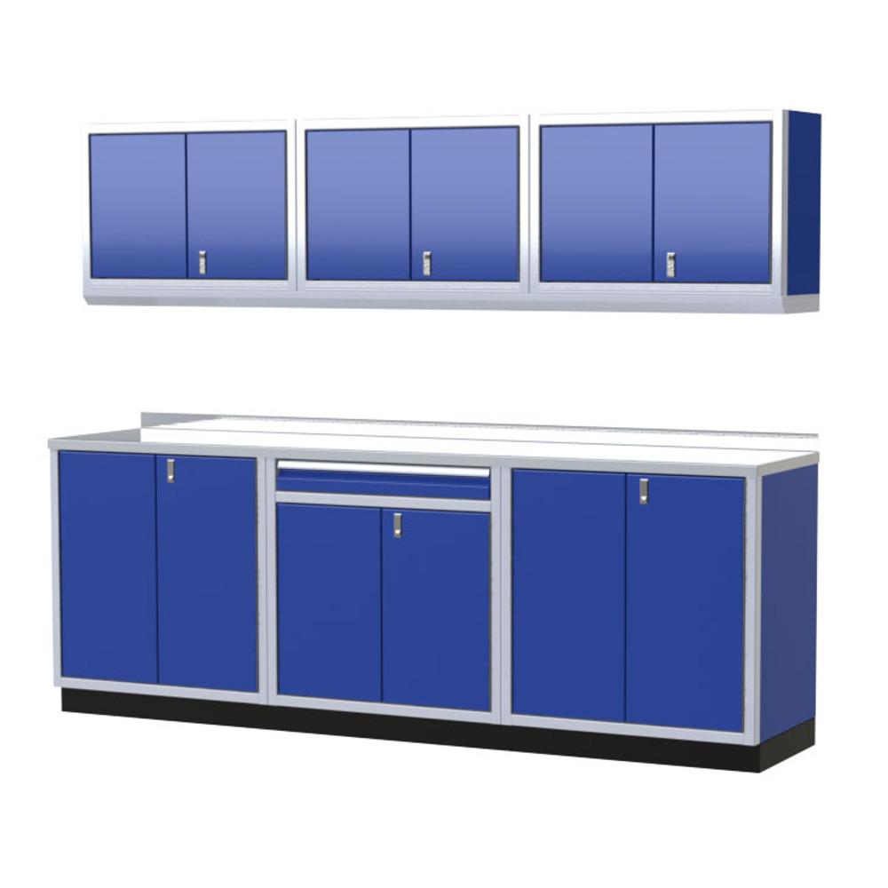 Moduline PRO II Series 7-Piece Garage Cabinet Set PGC009-01X