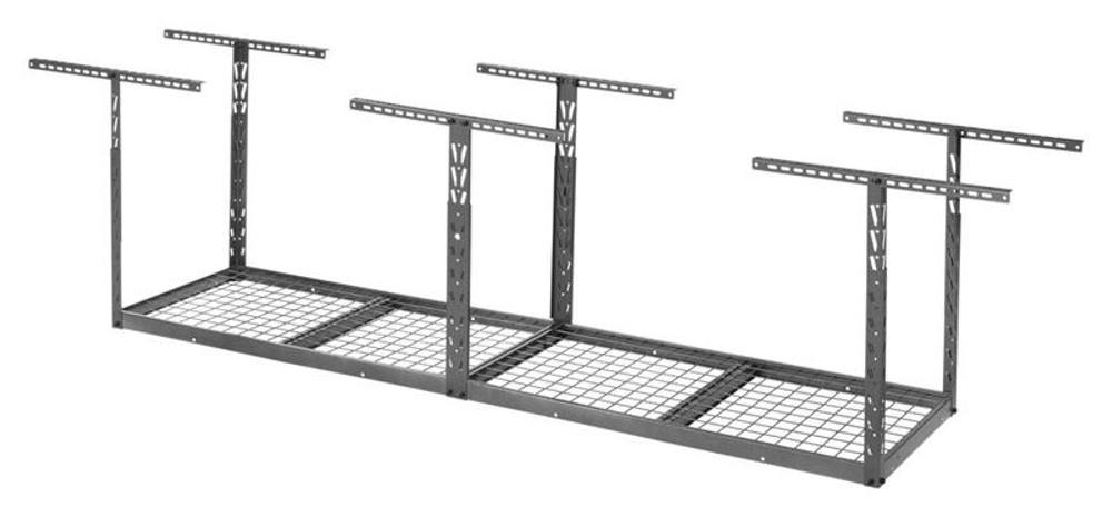 Gladiator Overhead GearLoft Storage Rack 2' X 8' - Hammered Granite