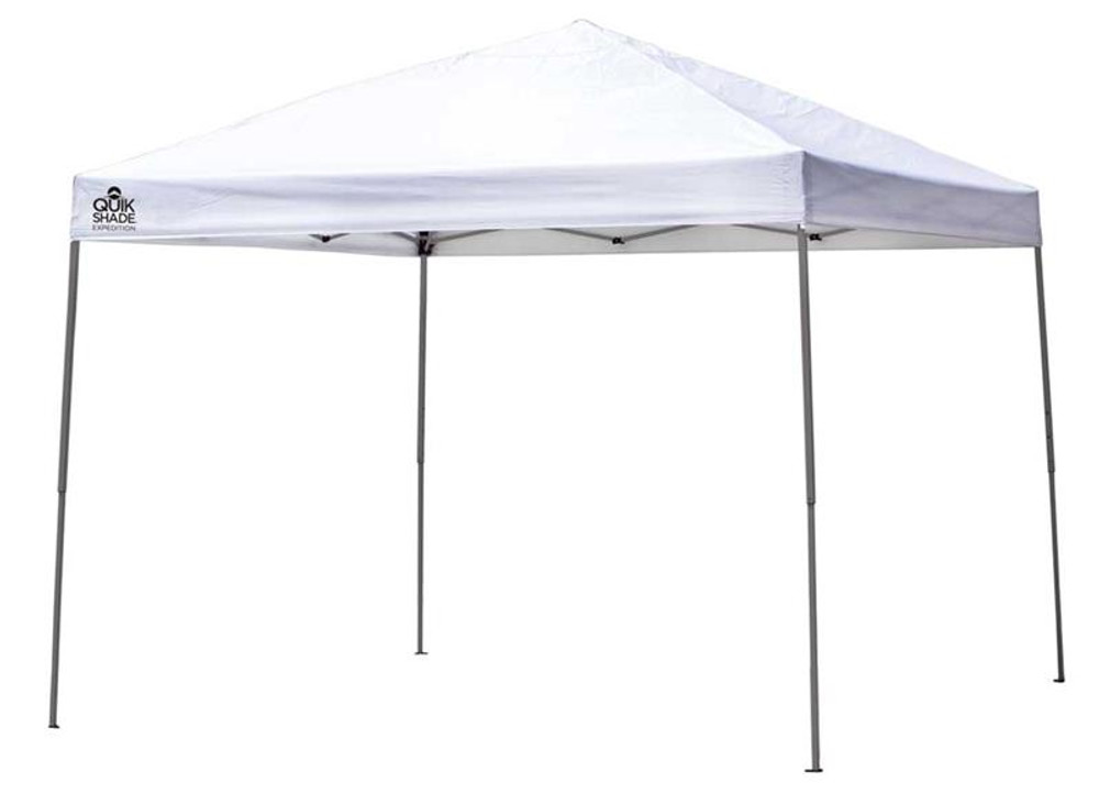 Quick Shade Expedition EX100 10 x 10 ft. Straight Leg Canopy - White