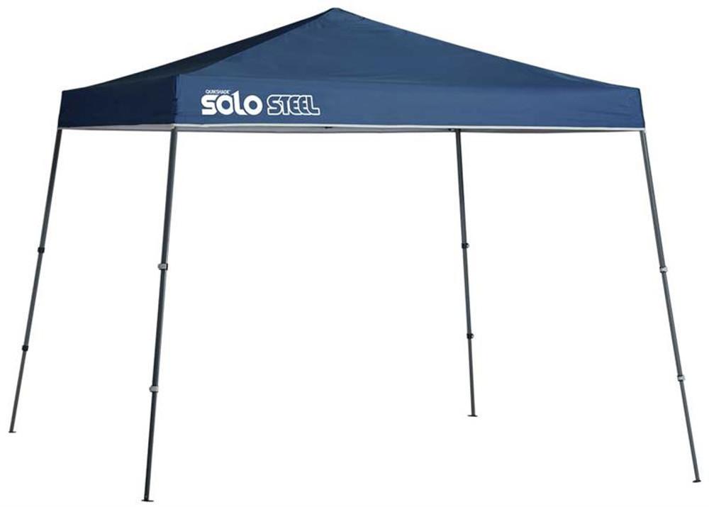 Quick Shade Solo Steel 72 11 x 11 ft. Slant Leg Canopy - Midnight Blue