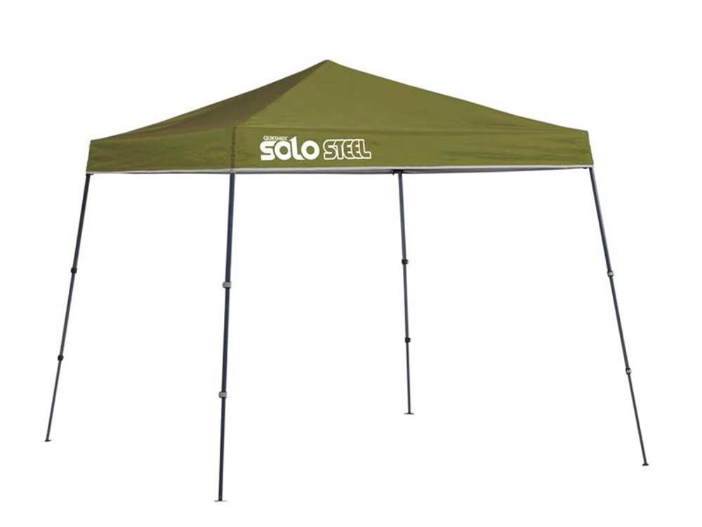 Quick Shade Solo Steel 50 9 x 9 ft. Slant Leg Canopy - Olive