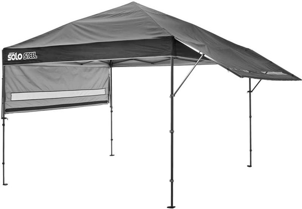 Quick Shade Solo Steel 170 10 x 17 ft. Straight Leg Canopy - Black