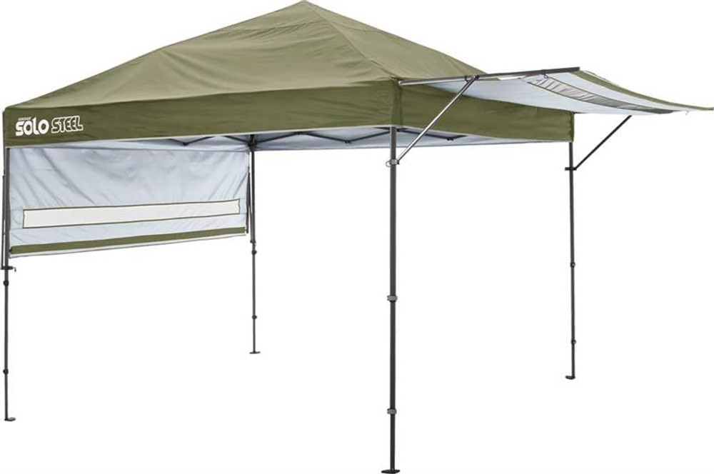 Quick Shade Solo Steel 170 10 x 17 ft. Straight Leg Canopy - Olive