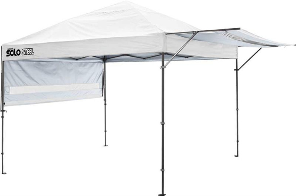 Quick Shade Solo Steel 170 10 x 17 ft. Straight Leg Canopy - White