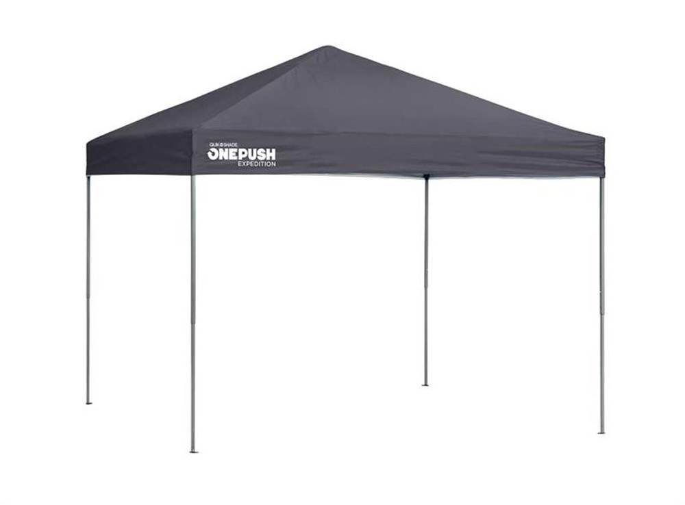 Quick Shade Expedition EX100 One Push 10 x 10 ft. Straight Leg Canopy - Charcoal