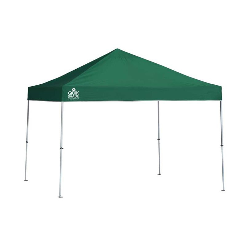 Quik Shade Weekender Elite WE100 10 x 10 ft. Straight Leg Canopy - Green