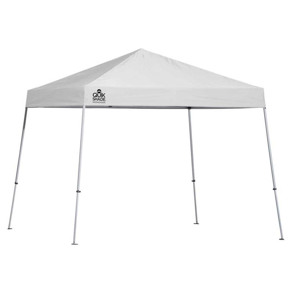 Quik Shade Weekender Elite WE81 12 x 12 ft. Slant Leg Canopy - White