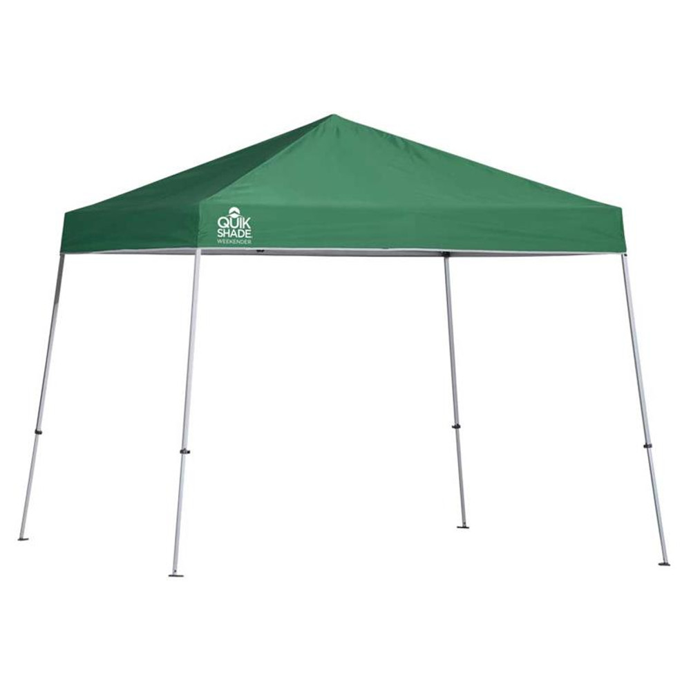 Quik Shade Weekender Elite WE81 12 x 12 ft. Slant Leg Canopy - Green