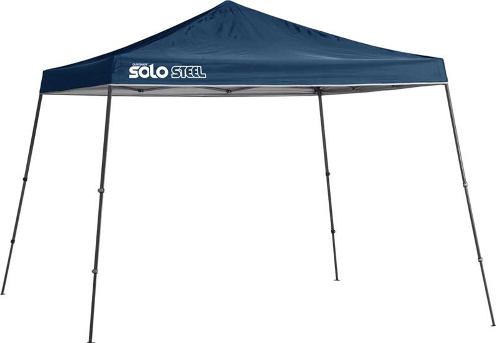 Quik Shade Solo Steel 90 11 x 11 ft. Slant Leg Canopy - Midnight Blue