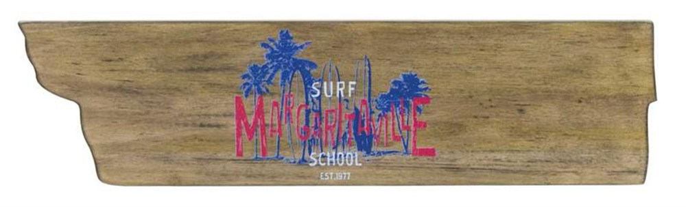 Margaritaville Directional Garden Sign - Surf School