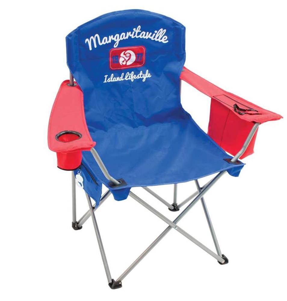 Margaritaville Quad Chair - Island Lifestyle 1977 - Blue/Red