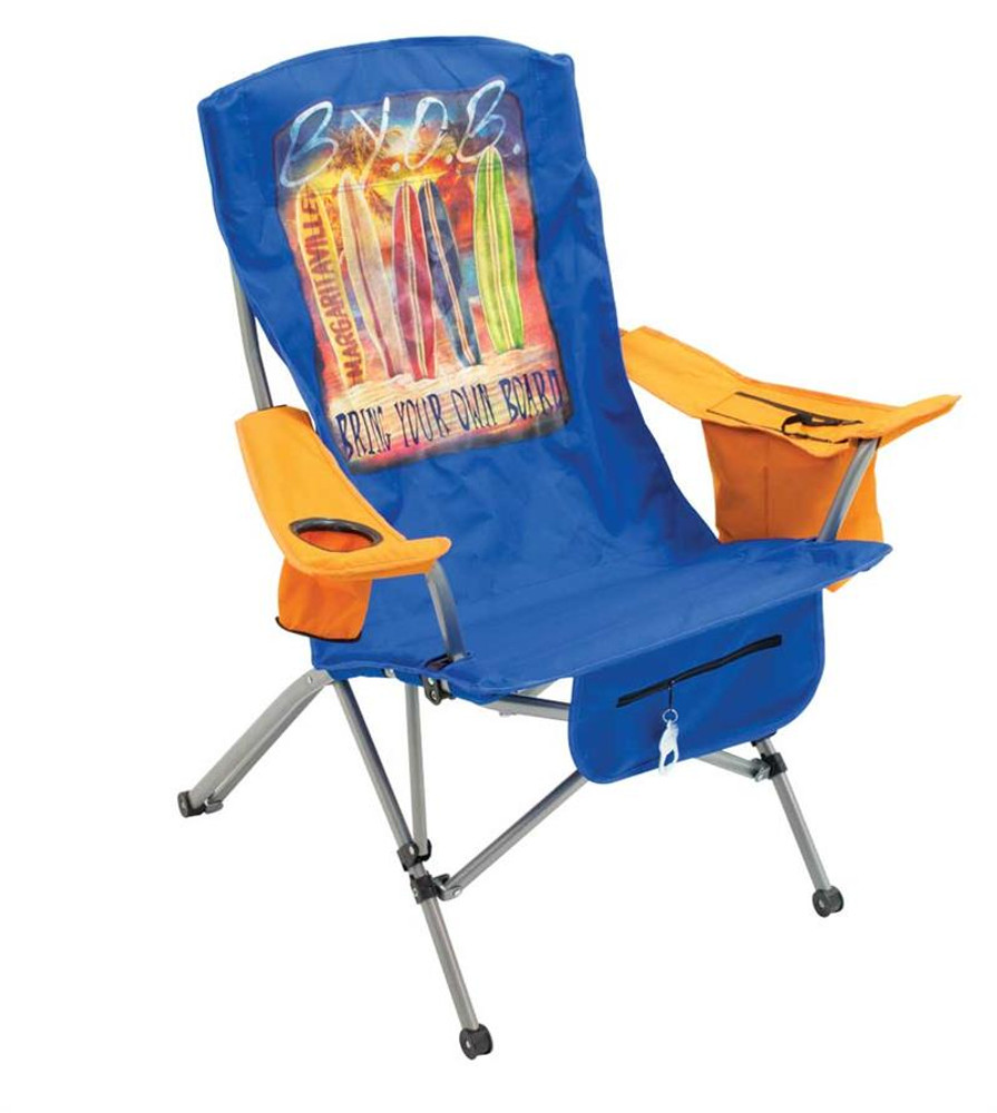 Margaritaville Tension Quad Chair - Bring Your Own Board - Teal/Orange