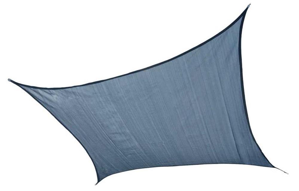 ShelterLogic Shade Sail Square - Heavyweight 12 x 12 ft. Sea Blue