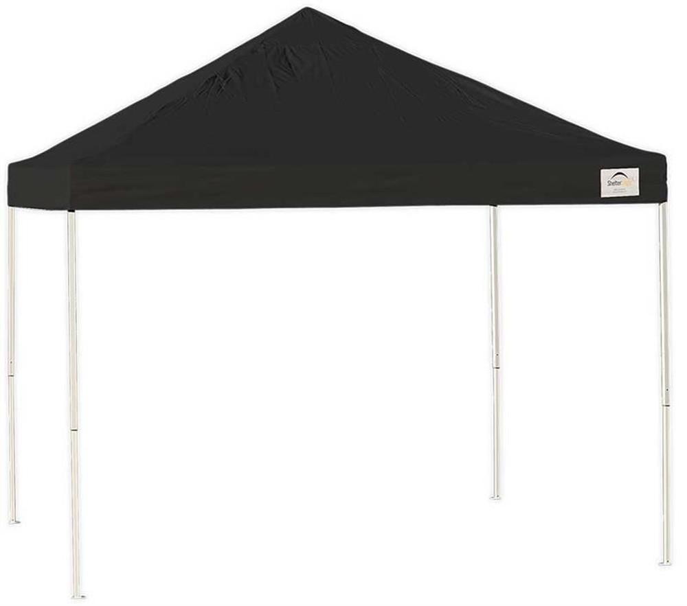 ShelterLogic Pop-Up Canopy HD - Straight Leg 10 x 10 ft. Black