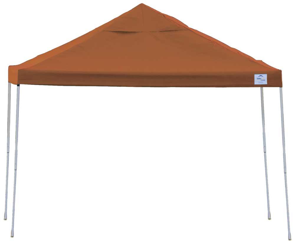 ShelterLogic Pop-Up Canopy HD - Straight Leg 10 x 10 ft. Terracotta