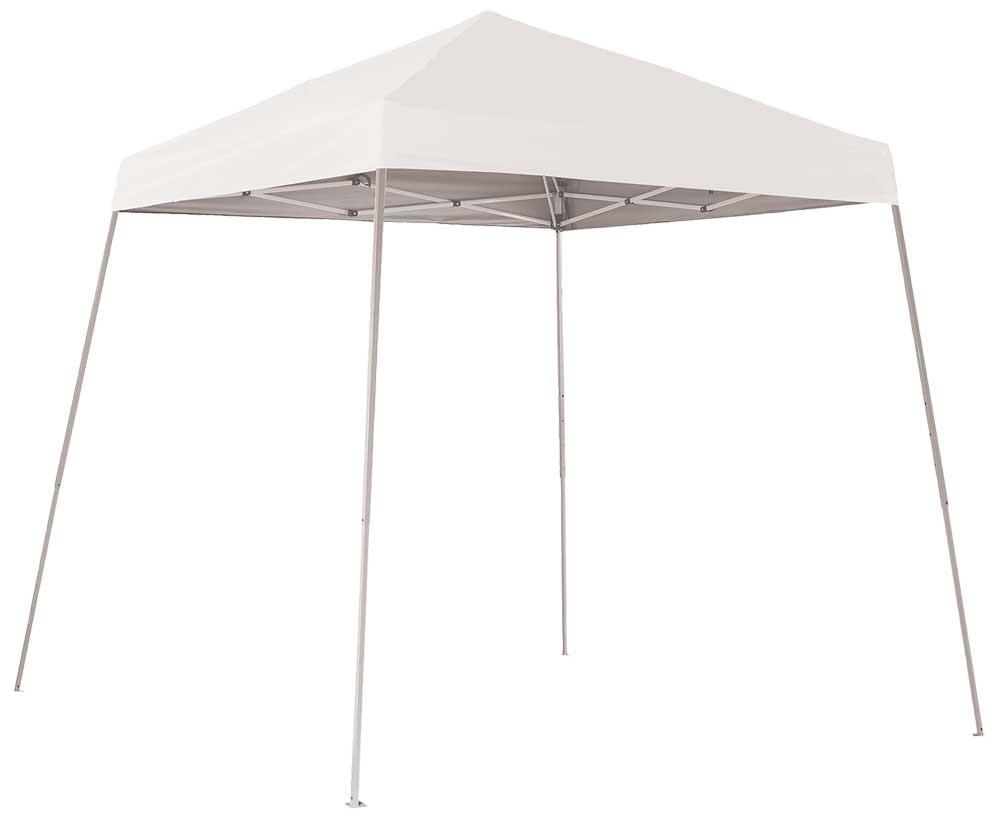 ShelterLogic Pop-Up Canopy HD - Slant Leg 8 x 8 ft. White