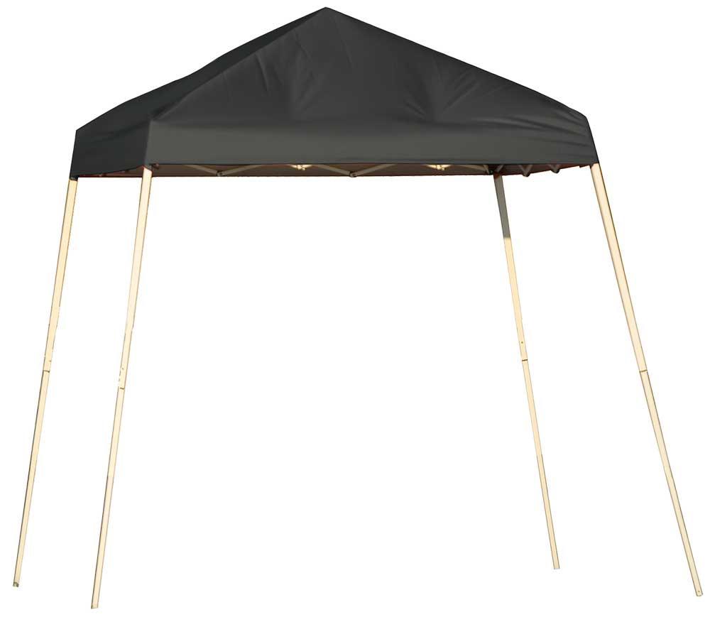 ShelterLogic Pop-Up Canopy HD - Slant Leg 8 x 8 ft. Black