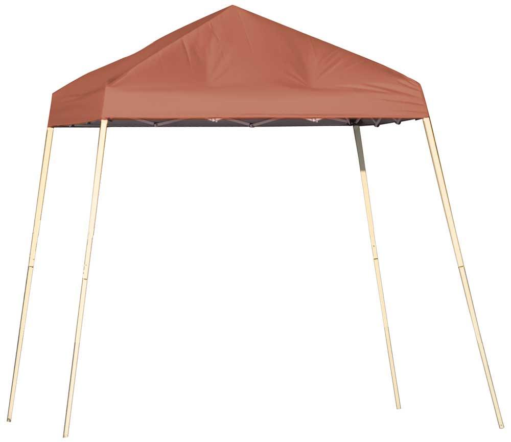 ShelterLogic Pop-Up Canopy HD - Slant Leg 8 x 8 ft. Terracotta
