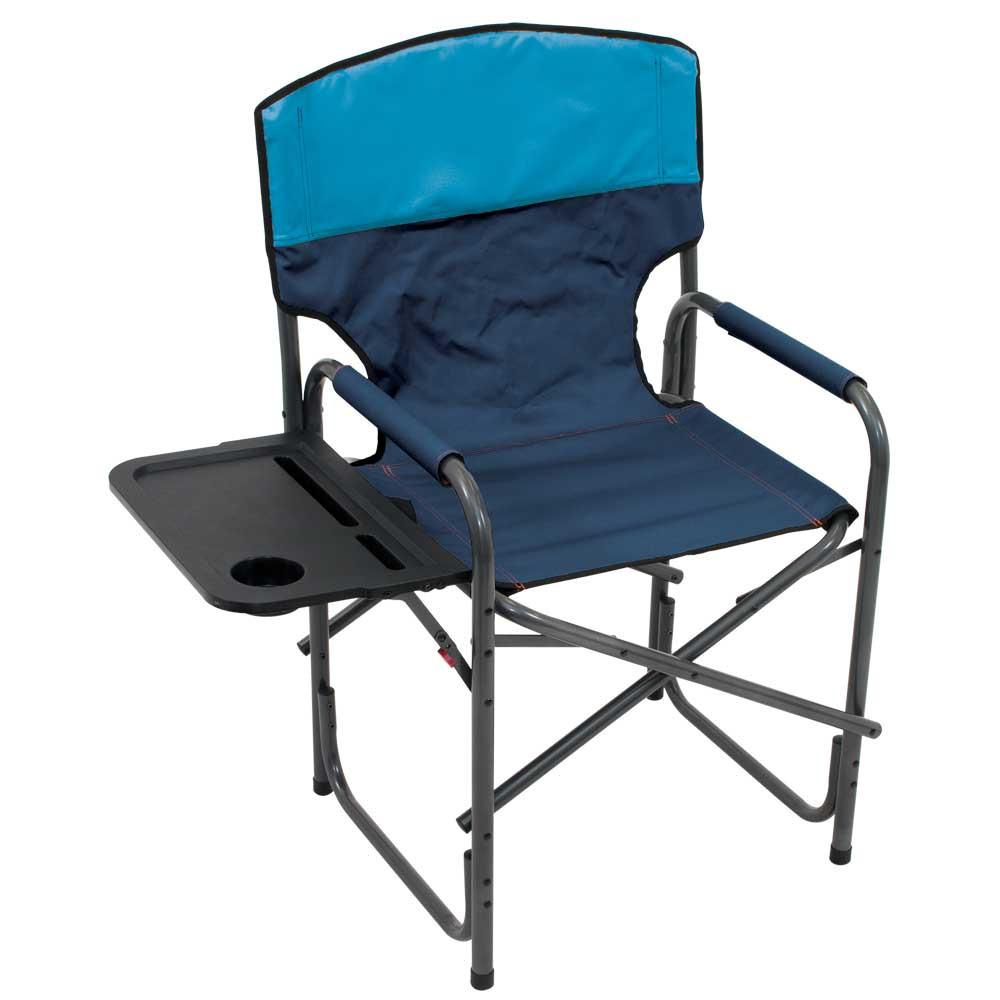 RIO Gear Broadback Compact Fold Directors Chair - Blue Sky/Navy