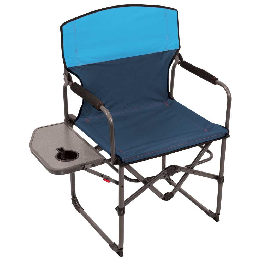 RIO Gear Broadback Oversized Camping Folding Chair - Blue Sky/Navy