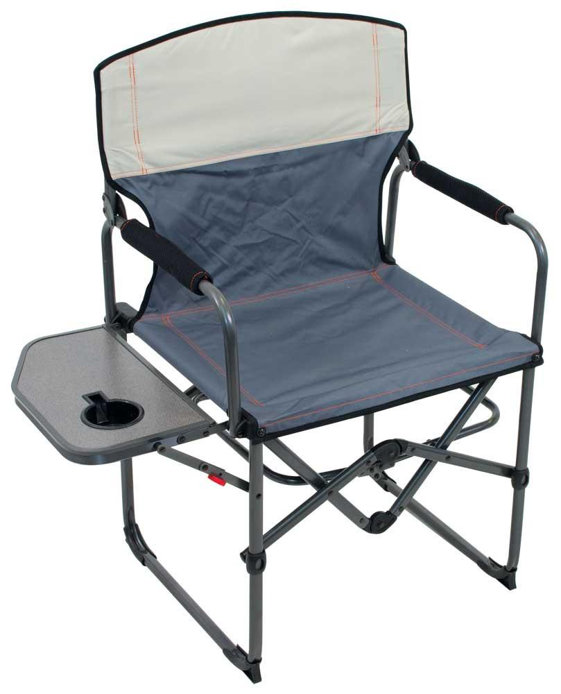 RIO Gear Broadback Oversized Camping Folding Chair - Slate/Putty
