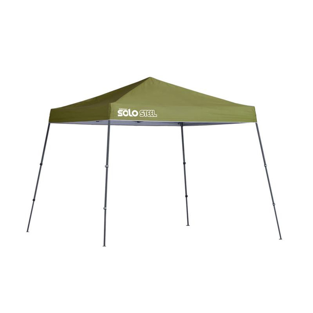 Quik Shade Solo Steel 64 10 x 10 ft. Slant Leg Canopy - Olive