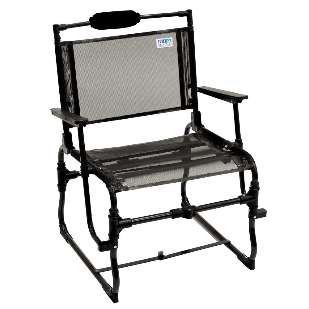RIO Gear Compact Traveler Large 12.5 in. Seat Height with Hard Arms