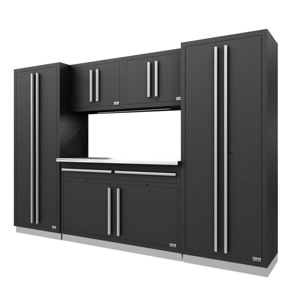 Proslat Fusion PRO 6 Piece Cabinet Set - Silver