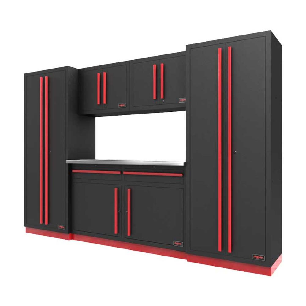 Proslat Fusion PRO 6 Piece Cabinet Set - Barrett-Jackson Red
