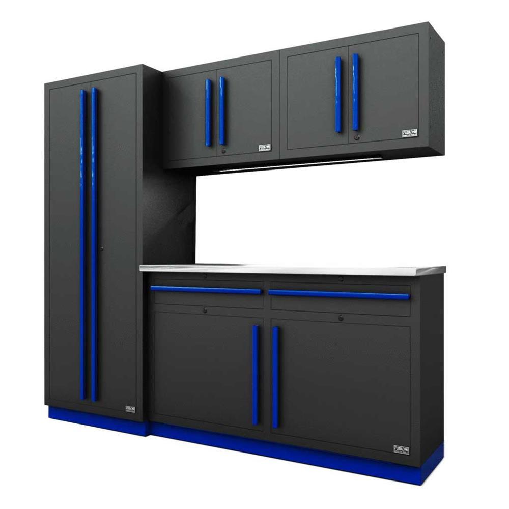 Proslat Fusion PRO 5 Piece Cabinet Set - Blue
