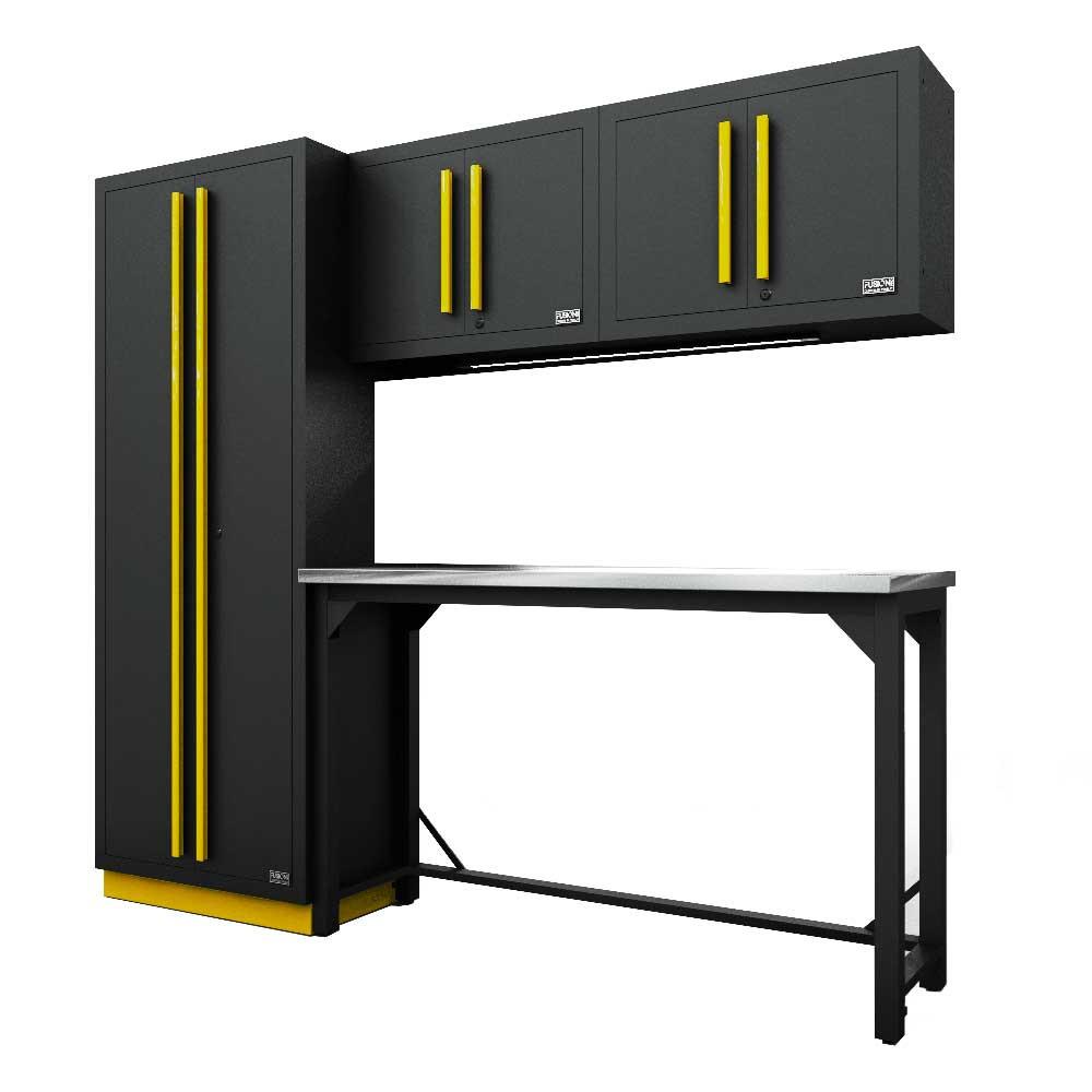 Proslat Fusion PRO 5 Piece Work Bench Set - Yellow
