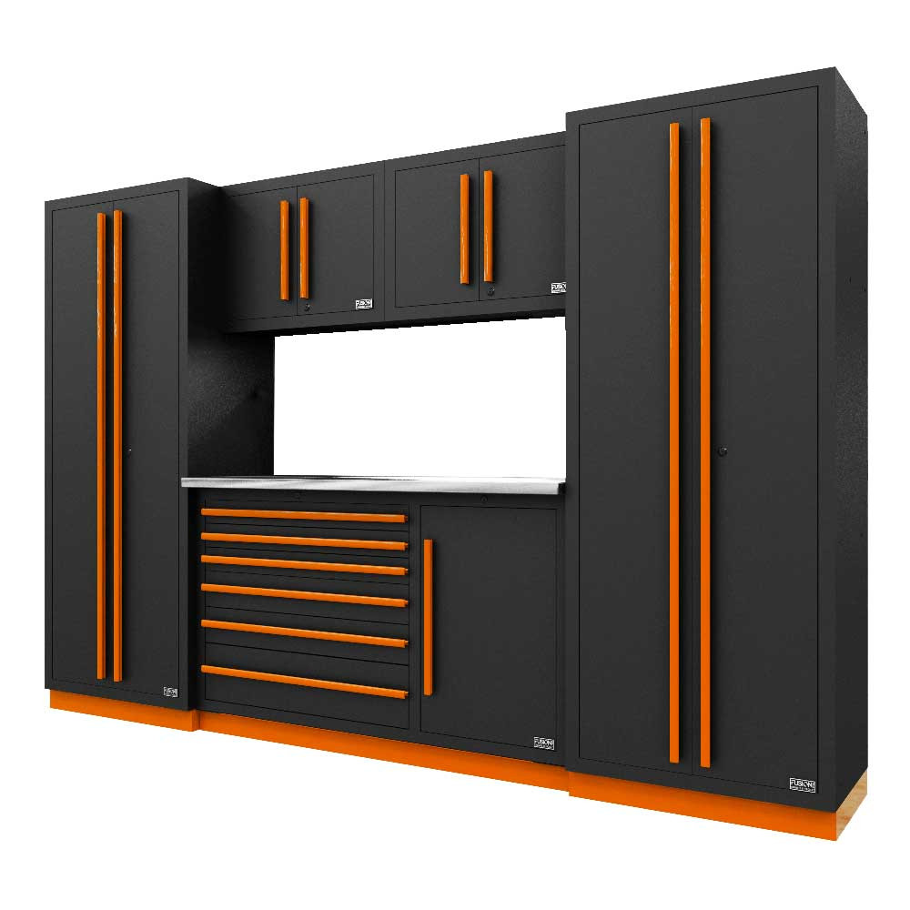 Proslat Fusion PRO 6 Piece Tool Chest Set - Orange