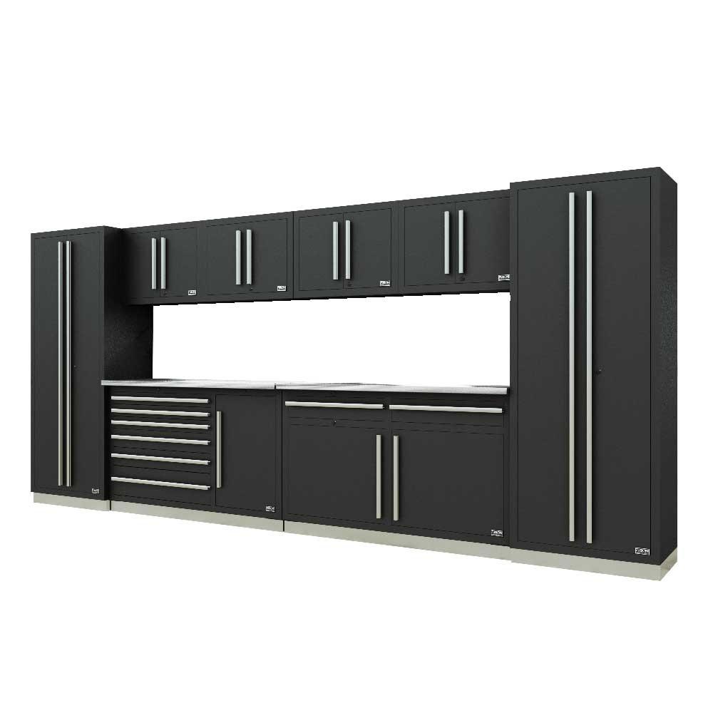 Proslat Fusion PRO 10 Piece Max Cabinet Set - Silver