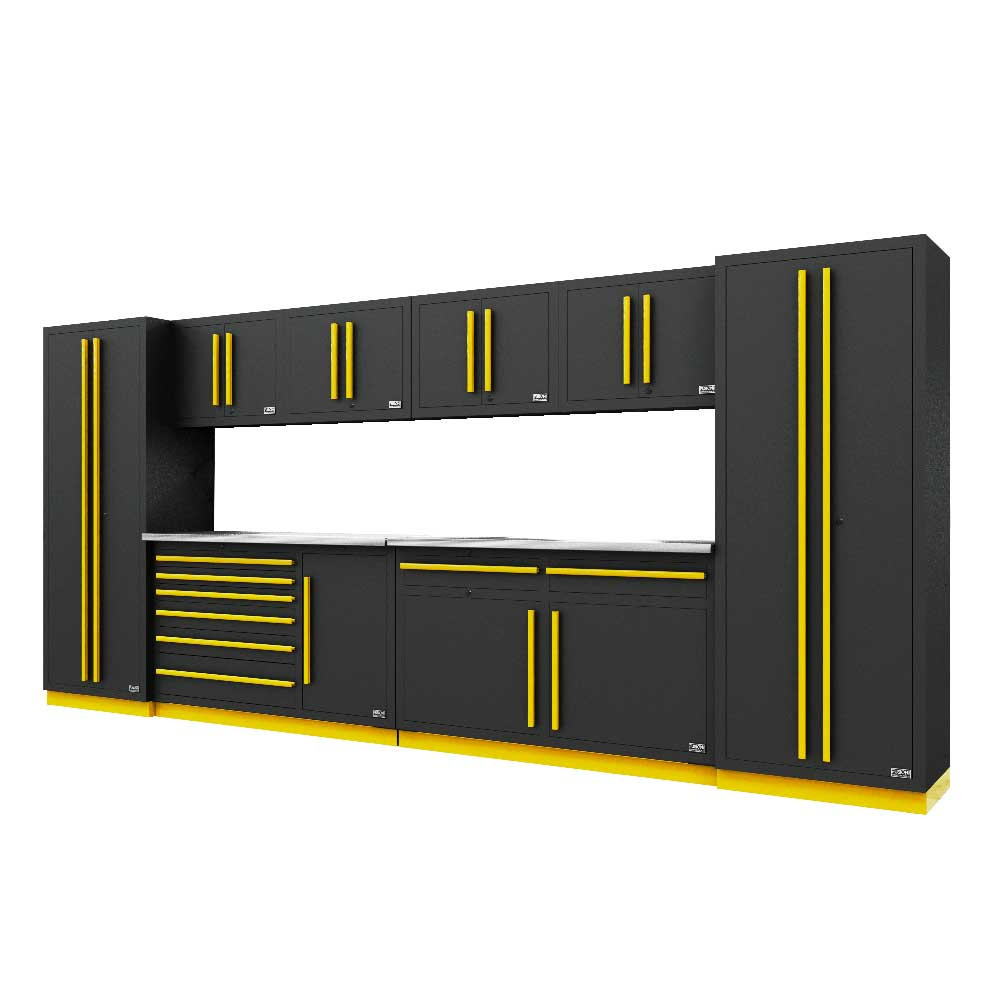 Proslat Fusion PRO 10 Piece Max Cabinet Set - Yellow