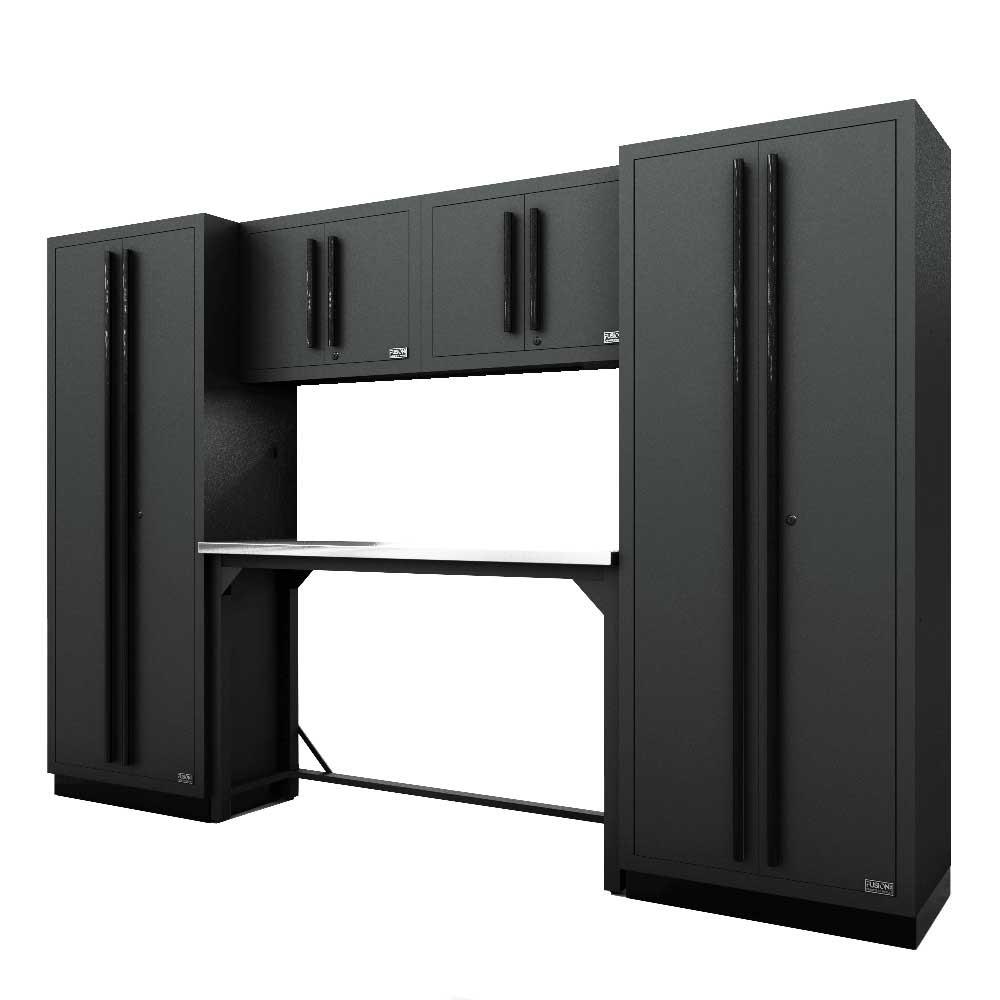 Proslat Fusion PRO 6 Piece Work Bench Set - Black