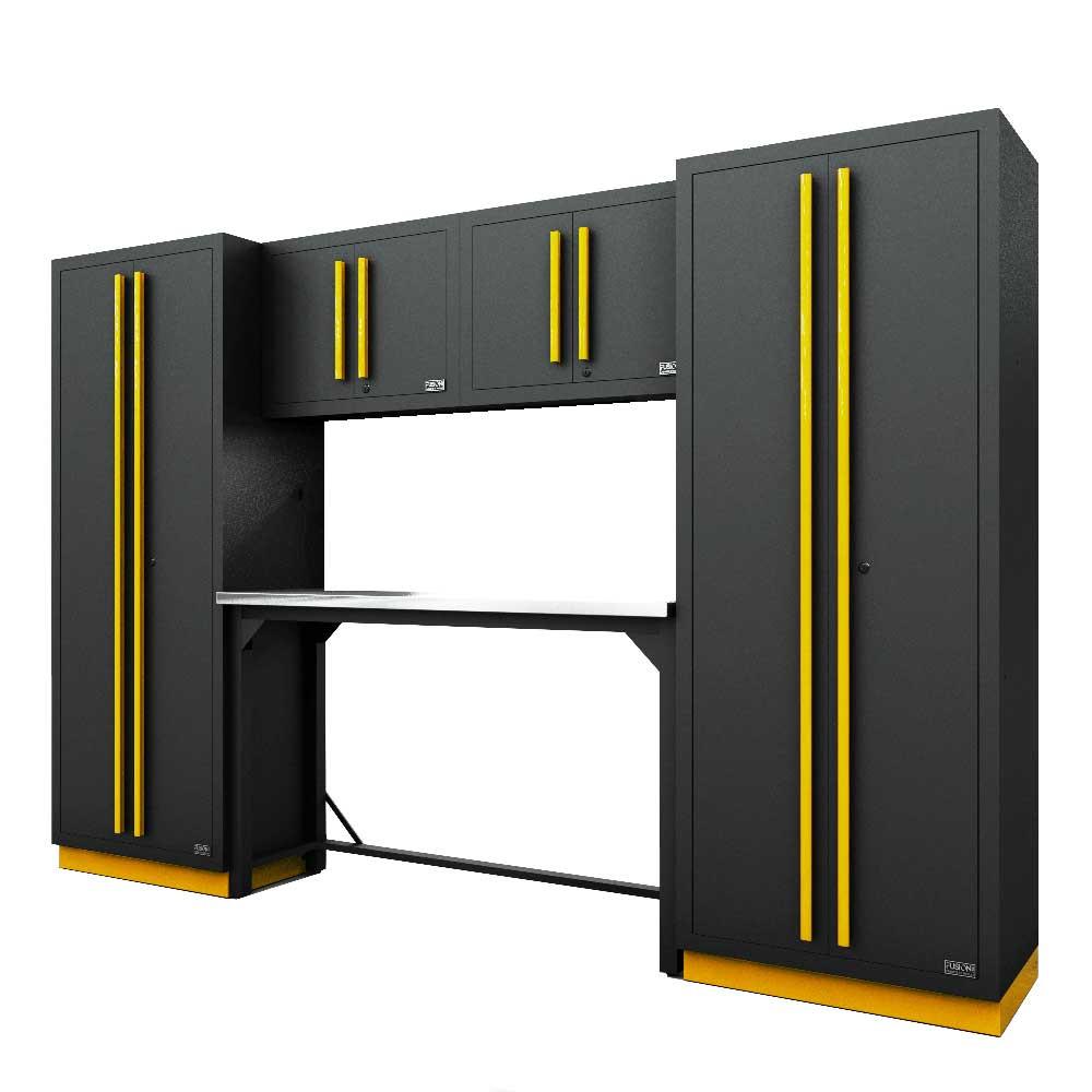 Proslat Fusion PRO 6 Piece Work Bench Set - Yellow