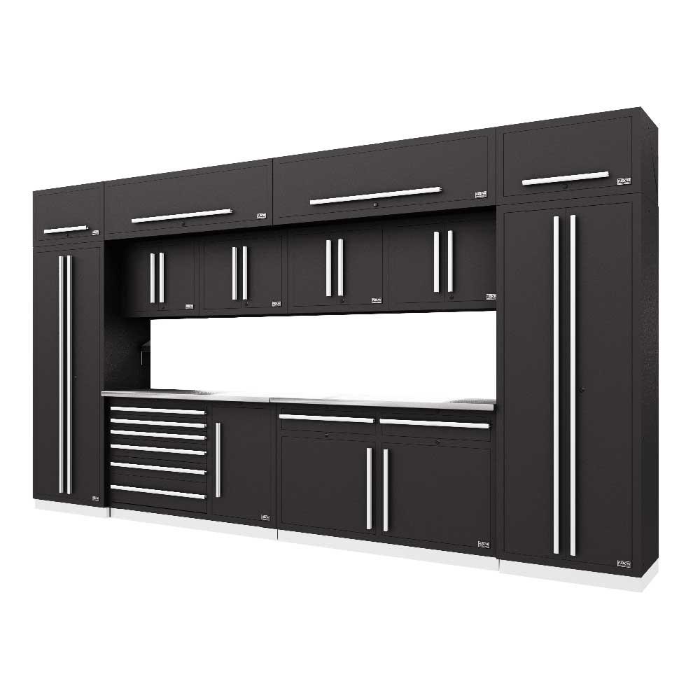 Proslat Fusion PRO 14 Piece Max Cabinet Set - Silver