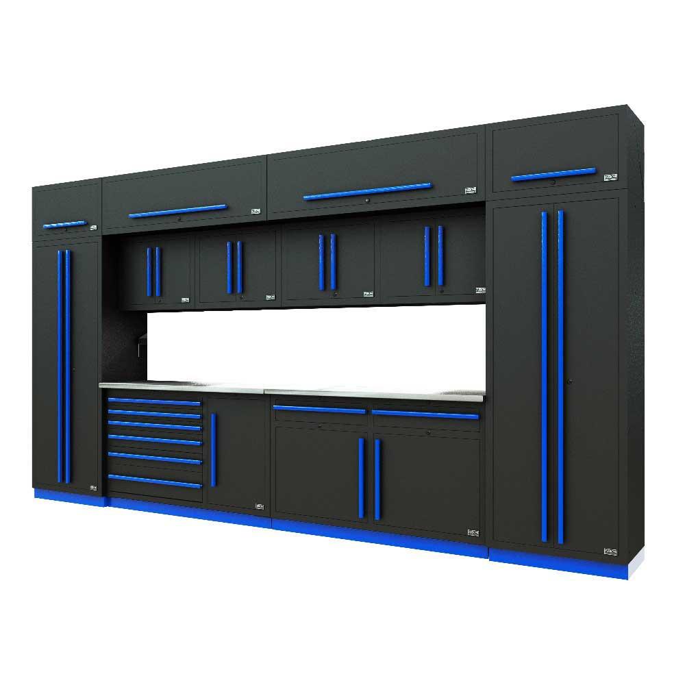 Proslat Fusion PRO 14 Piece Max Cabinet Set - Blue