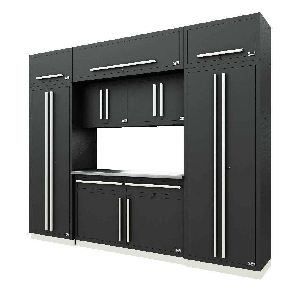 Proslat Fusion PRO 9 Piece Cabinet Set - Silver