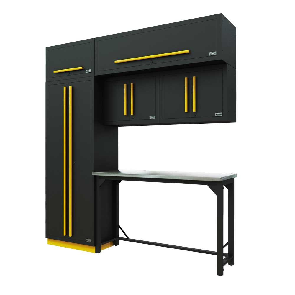 Proslat Fusion PRO 7 Piece Work Bench Set - Yellow