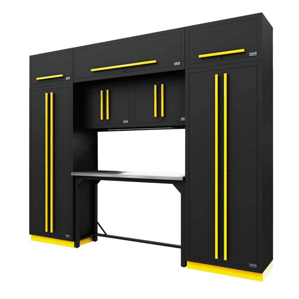 Proslat Fusion PRO 9 Piece Work Bench Set - Yellow