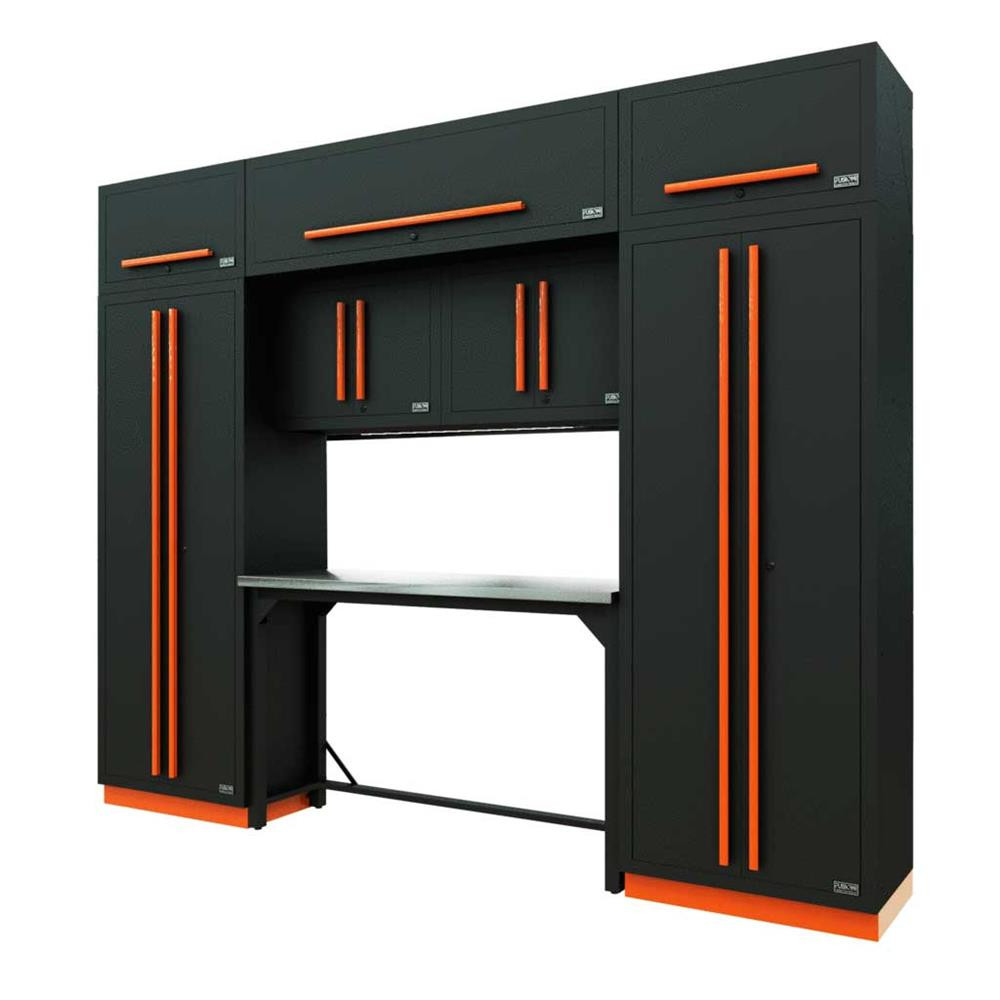 Proslat Fusion PRO 9 Piece Work Bench Set - Orange